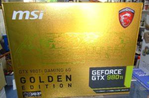 GeForceGTX980Ti Golden Edition